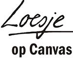 Logo Loesje op Canvas