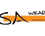 logo SA Wear Feestkleding